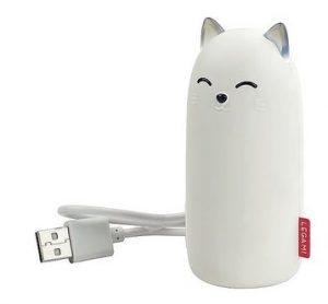 power bank i form av katt